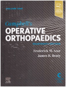 Campbell's Operative Orthopaedics: 4-Volume Set, 14ED