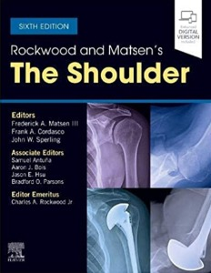 [2021년 7월 출간예정] Rockwood and Matsen's The Shoulder 6ED